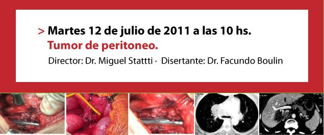 Tumor de peritoneo
