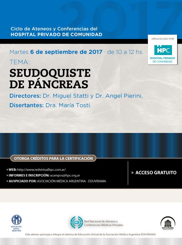 Seudoquiste de páncreas