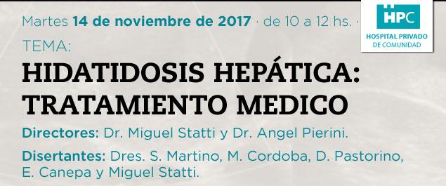 hidiatosis hepatica: tratamiento medico