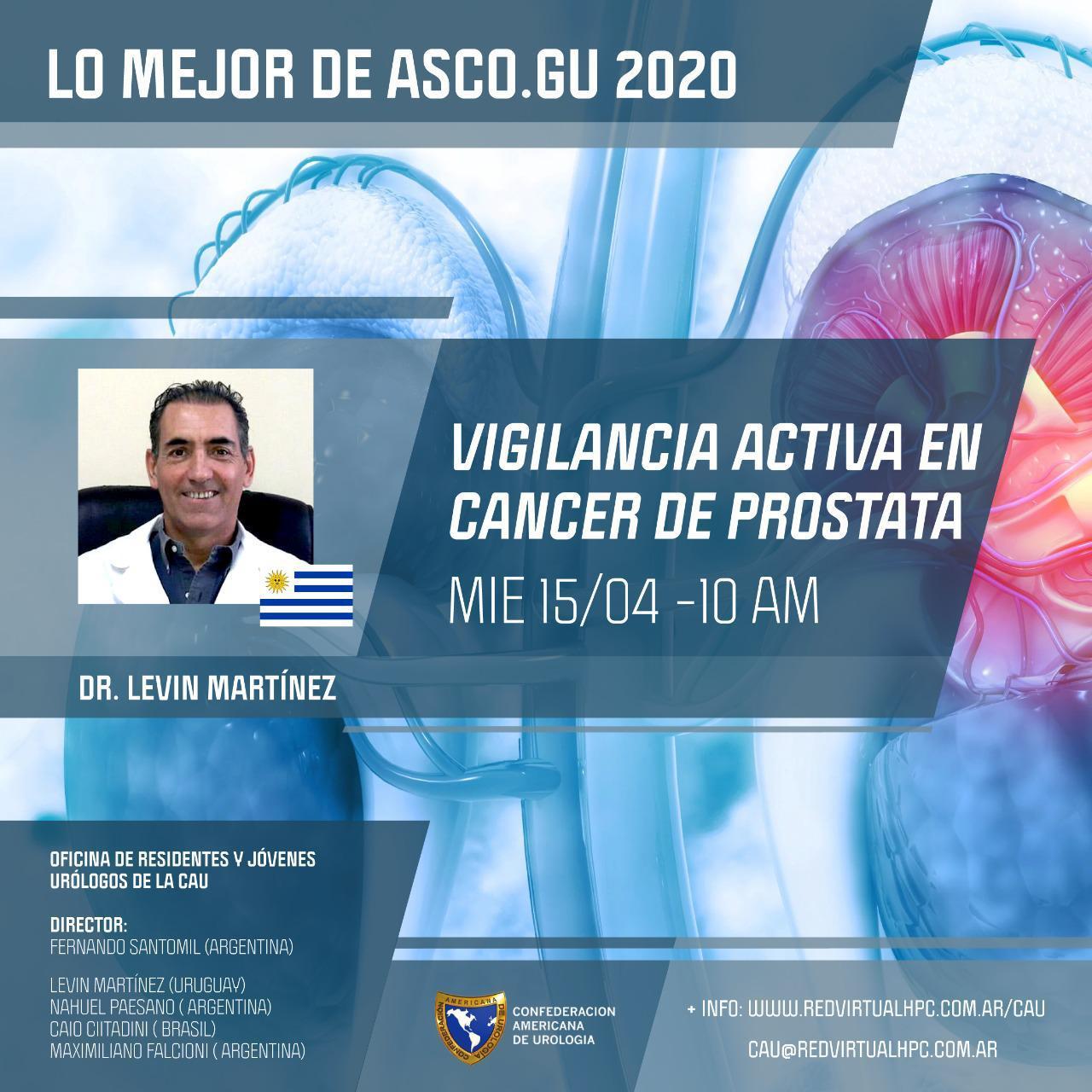 Vigilancia activa en cáncer de próstata